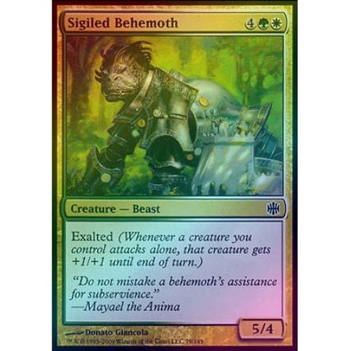 Sigiled Behemoth (Foil) (ARB) available at 401 Games Canada