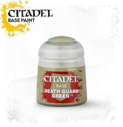 Buy Citadel Base - Death Guard Green and more Great Games Workshop Products at 401 Games