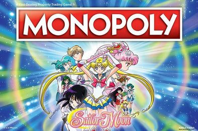 Buy Monopoly - Sailor Moon and more Great Board Games Products at 401 Games