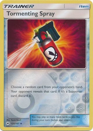 Tormenting Spray - 125/147 - Reverse Foil (BUS125R) - 401 Games