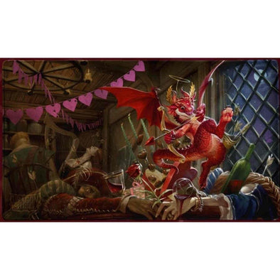 Dragon Shield - Limited Edition Play Mat - Christmas Dragon