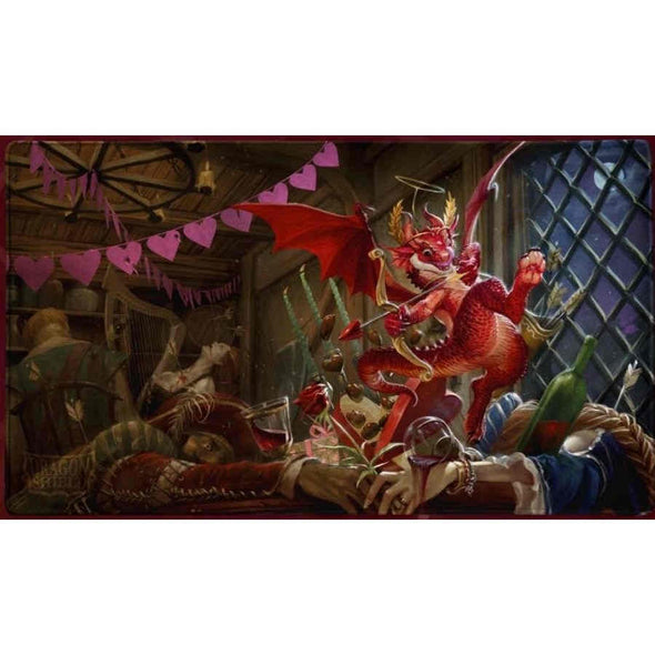 Dragon Shield - Limited Edition Play Mat - Christmas Dragon - 401 Games