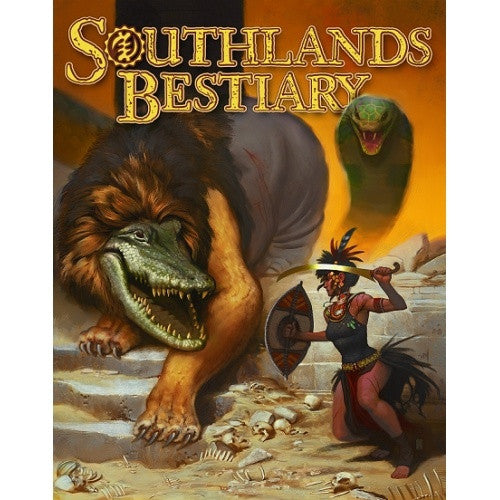 Pathfinder - Book - Southlands: Bestiary available at 401 Games Canada