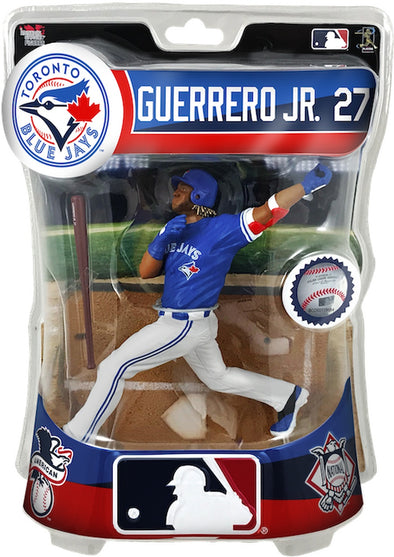 "2019 MLB Vladimir Guerrero Jr. (Toronto Blue Jays)  6"" Figure Imports Dragon - 401 Games"