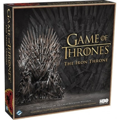 Buy Game of Thrones - The Iron Throne and more Great Board Games Products at 401 Games