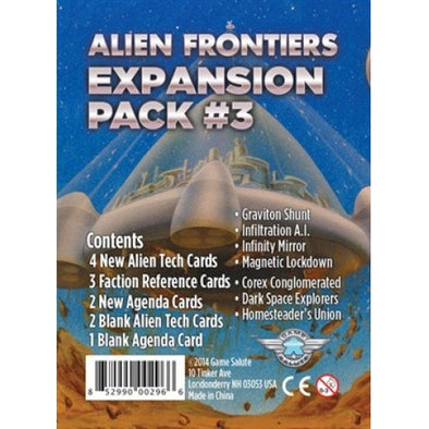 Alien Frontiers - Expansion Pack 3 - 401 Games
