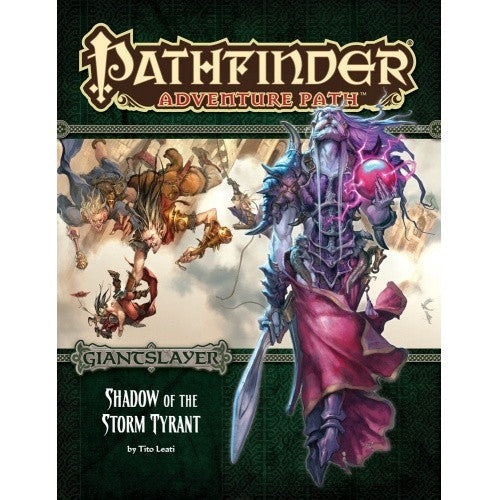 Pathfinder - Adventure Path - #96: Shadow of the Storm Tyrant (Giantslayer 6 of 6) - 401 Games