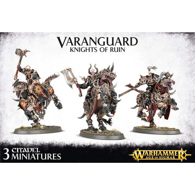 Buy Warhammer - Age of Sigmar - Everchosen - Varanguard, Knights of Ruin and more Great Games Workshop Products at 401 Games