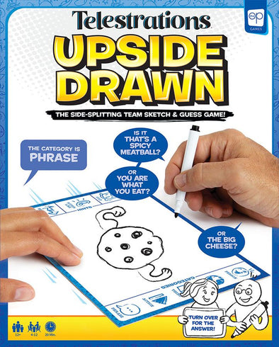 Telestrations: Upside Drawn available at 401 Games Canada