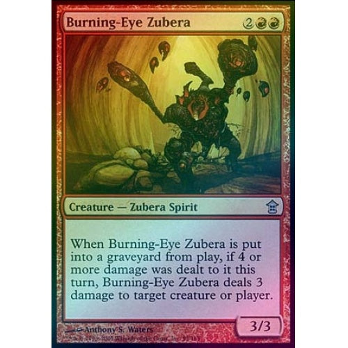Burning-Eye Zubera (Foil)