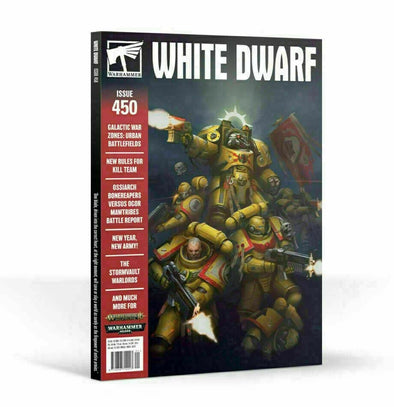 White Dwarf - Issue 450 - January 2020 available at 401 Games Canada
