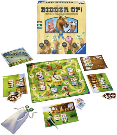 Buy Bidder Up! and more Great Board Games Products at 401 Games