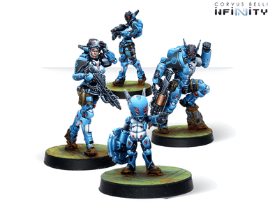 Infinity - PanOceania - Orc Troops - 401 Games
