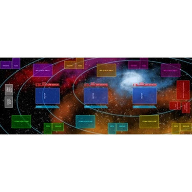Galactic Strike Force - Playmat - 401 Games