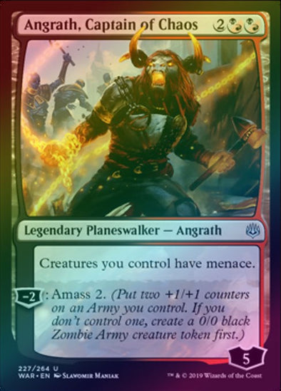 Angrath, Captain of Chaos (Foil) (WAR)