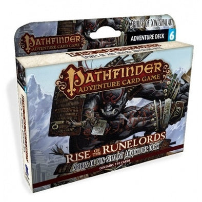 Buy Pathfinder Adventure Card Game - Rise of the Runelords - Spires of Xin-Shalast Adventure Deck and more Great Board Games Products at 401 Games