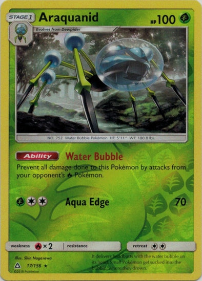 Buy Araquanid - 17/156 - Reverse Foil and more Great Pokemon Products at 401 Games