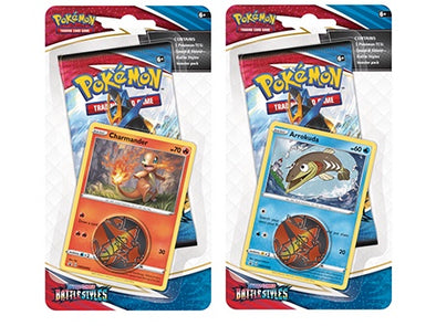 Pokemon - Battle Styles - Checklane Blister - 2 Blister Bundle (Pre-Order March 19th, 2021) available at 401 Games Canada