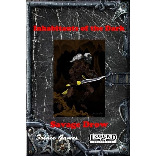 Pathfinder - Campaign Setting - Inhabitants of the Dark: Savage Drow - 401 Games