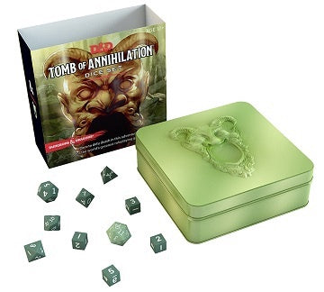 Buy Dungeons & Dragons - 5th Edition - Tomb of Annihilation Dice Set and more Great RPG Products at 401 Games