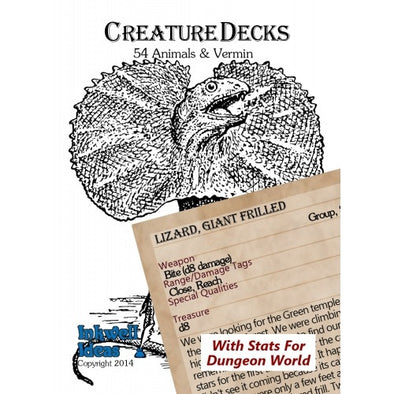 Buy Fate - Creature Deck - Animals and Vermin and more Great RPG Products at 401 Games