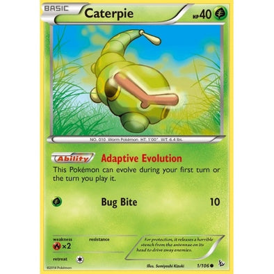 Buy Caterpie - 1/106 - Reverse Foil and more Great Pokemon Products at 401 Games
