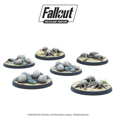 Fallout - Wasteland Warfare - Creatures - Mirelurk Hatchlings + Eggs available at 401 Games Canada