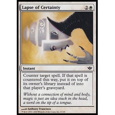 Lapse of Certainty (CON) - 401 Games