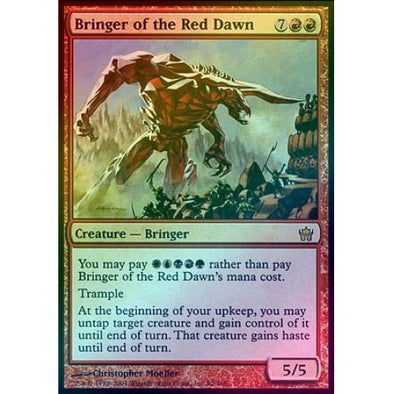Bringer of the Red Dawn (Foil) (5DN) available at 401 Games Canada