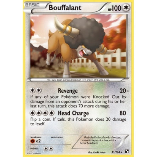 Buy Bouffalant - 91/114 and more Great Pokemon Products at 401 Games