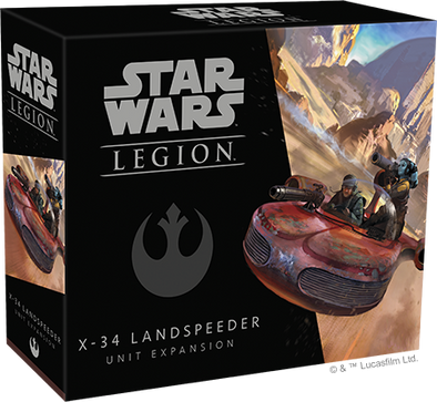 Star Wars - Legion - Rebel - Landspeeder X-34 Unit Expansion - 401 Games
