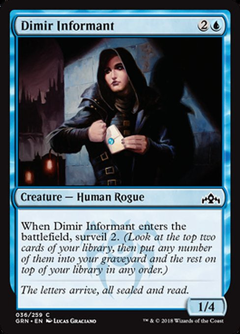 Dimir Informant (GRN) available at 401 Games Canada