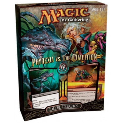 Buy MTG - Duel Deck - Phyrexia Vs. Coalition and more Great Magic: The Gathering Products at 401 Games