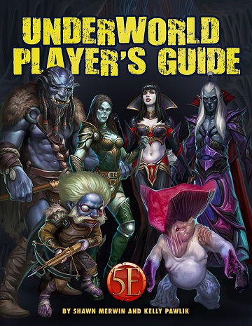 Dungeons & Dragons - 5th Edition - Kobold Press - Underworld Player's Guide (Pre-Order) - 401 Games