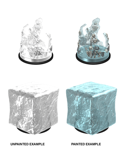 Dungeons and Dragons Nolzur's Marvelous Unpainted Minis: Gelatinous Cube