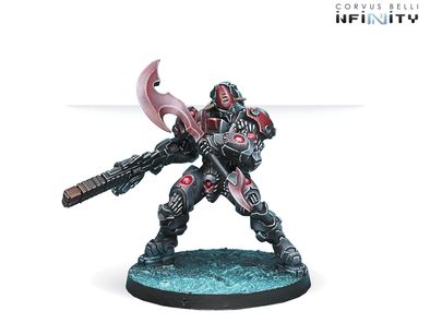 Infinity - Combined Army - Sogarat Tempest Regiment (HMG) - 401 Games