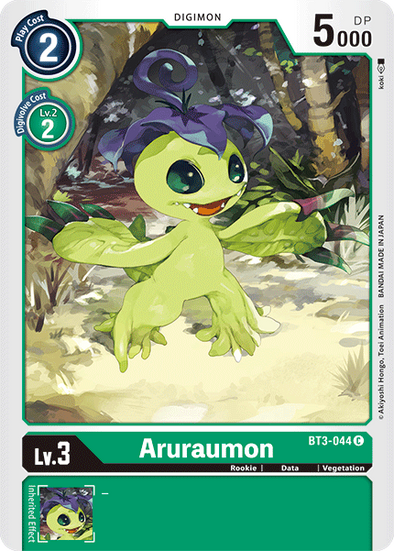Aruraumon (BT3-044) available at 401 Games Canada