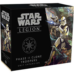 Star Wars - Legion - Galactic Republic - Phase II Clone Troopers Unit Expansion available at 401 Games Canada