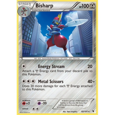 Buy Bisharp - 82/101 - Reverse Foil and more Great Pokemon Products at 401 Games
