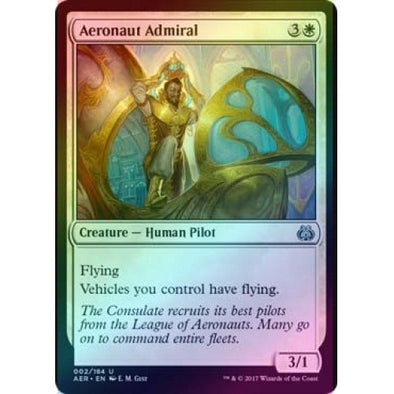 Aeronaut Admiral (Foil) (AER) available at 401 Games Canada