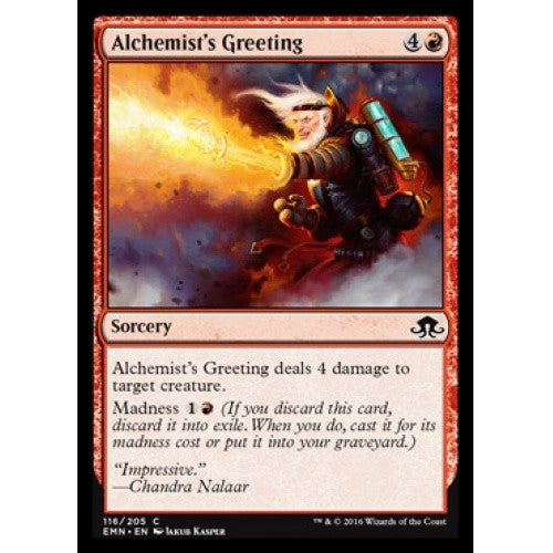 Alchemist's Greeting (EMN) - 401 Games