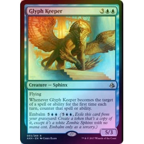 Glyph Keeper (Foil) (AKH) available at 401 Games Canada