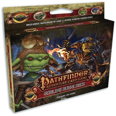 Buy Pathfinder Adventure Card Game - Goblins Burn! Deck and more Great Board Games Products at 401 Games