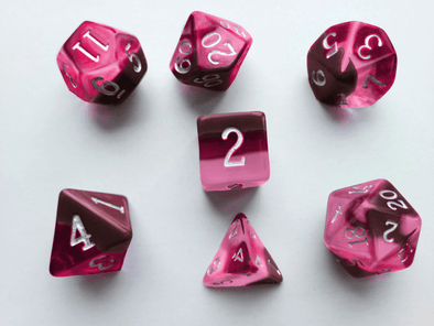 Little Dragon - Birthstone Dice - Ruby (July)