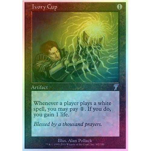 Ivory Cup (Foil) available at 401 Games Canada