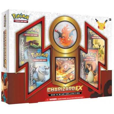 Buy Pokemon - Red and Blue Collection Charizard EX (Generations) and more Great Pokemon Products at 401 Games