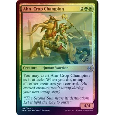 Ahn-Crop Champion (Foil) (AKH) available at 401 Games Canada