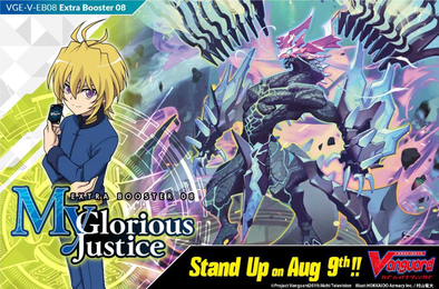 Cardfight!! Vanguard - V Extra Booster 08: My Glorious Justice available at 401 Games Canada