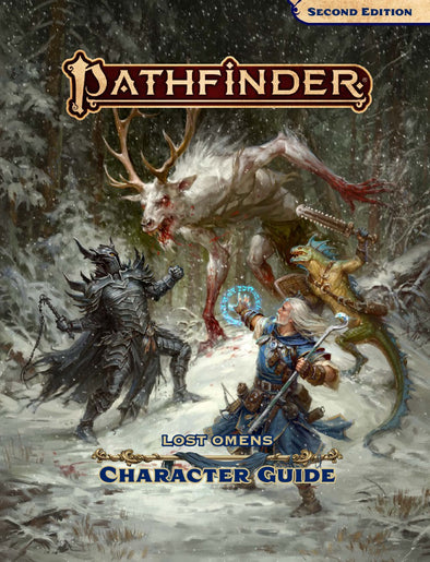 Pathfinder 2nd Edition - Lost Omens Character Guide available at 401 Games Canada