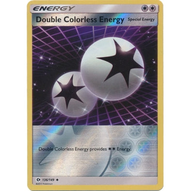 Double Colorless Energy - 136/149 - Reverse Foil - 401 Games
